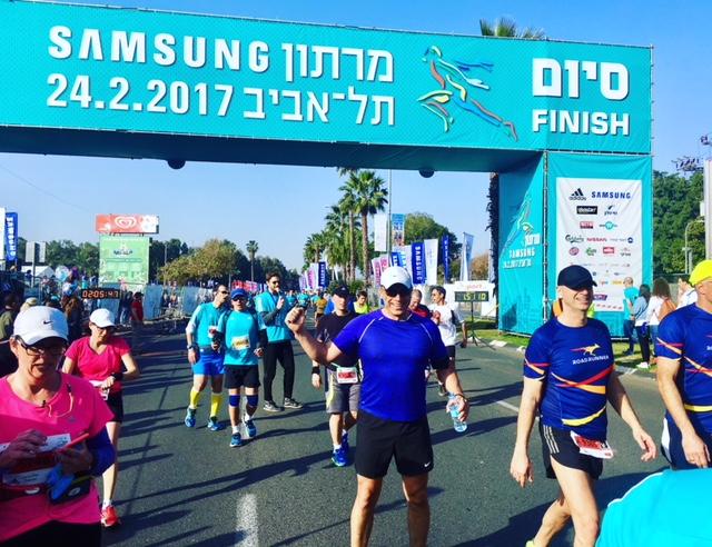 מרתון תל אביב בני ינאי